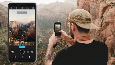 Moment Pro Camera1 390x220 - تطبيق Moment - Pro Camera للتحكم الكامل في عناصر الكاميرا ووضع RAW