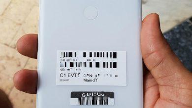 White Google Pixel 3 XL live images 390x220 - تسريب أول صور حقيقية لجوال Pixel 3 XL تكشف تصميمه