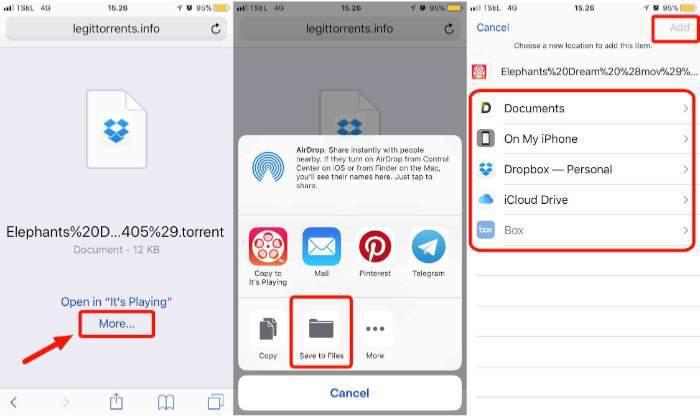 03a Torrent iOS mte Downloading Torrent File - تعرف على كيفية تحميل ملفات التورنت على آيفون وآيباد بشكل مجاني وآمن