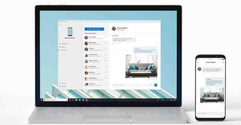 12 - شركة مايكروسوفت تختبر تطبيق Your Phone على نظام ويندوز 10