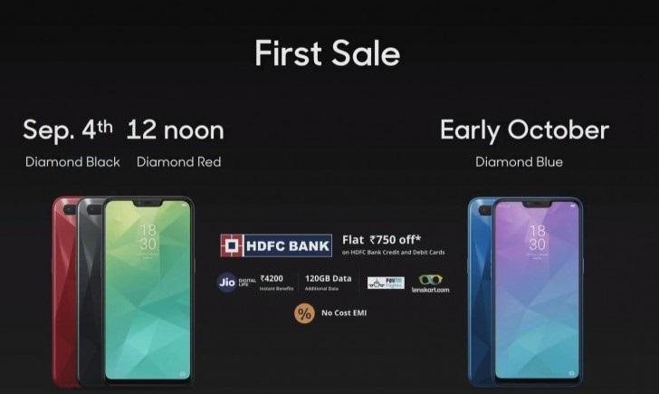 4 4 - أوبو تزيح الستار عن جوال Realme 2 بشاشة كبيرة 6.2 إنش وبطارية ضخمة بسعر رخيص