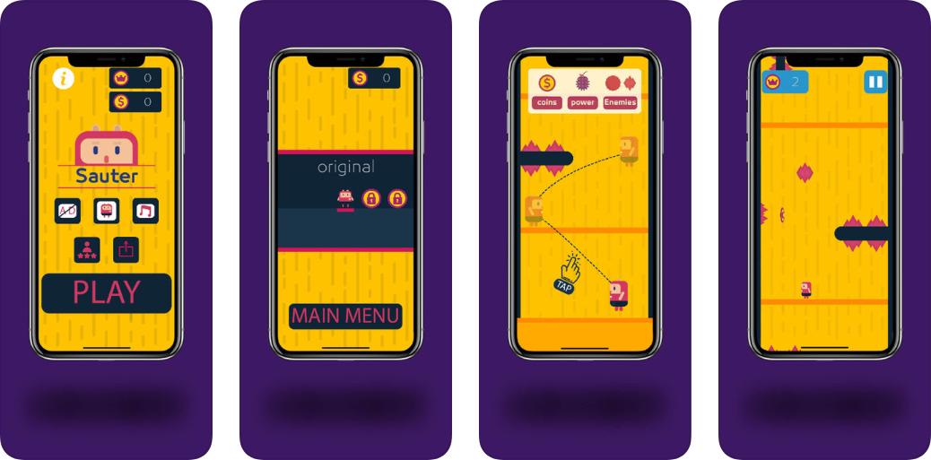 Screenshot 15 1 - إطلاق لعبة تخطي الحواجز Sauter لتحدي التركيز والسرعة متوفرة للآيفون والآيباد