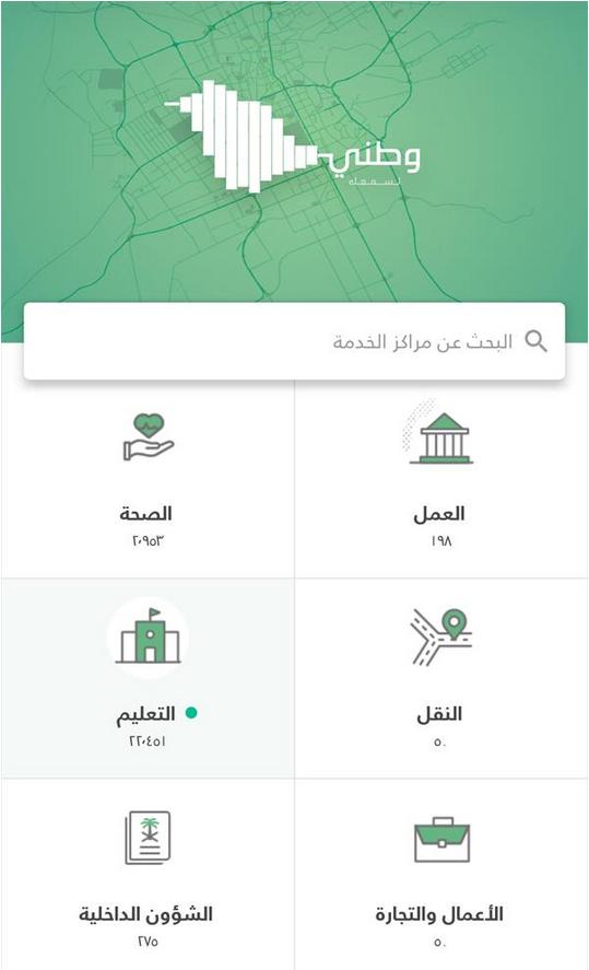 Screenshot 15 - إطلاق تطبيق وطني لقياس رضاء أفراد المجتمع عن الخدمات الحكومية وتطويرها