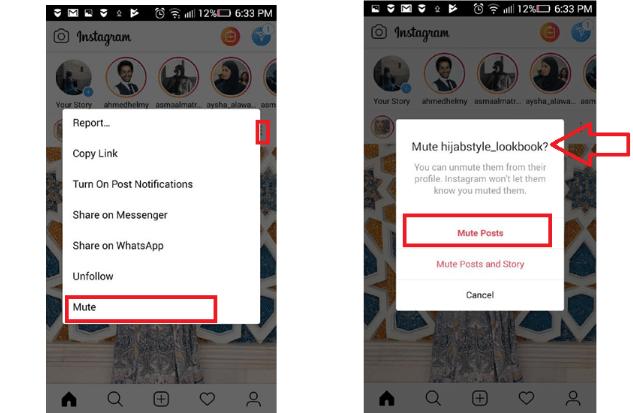 Screenshot 16 2 - طريقة تجاهل منشورات الأصدقاء المزعجة على إنستجرام دون علمهم أو إرسال إشعار لهم