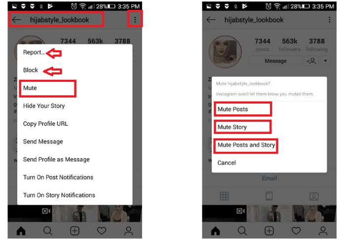 Screenshot 17 1 - طريقة تجاهل منشورات الأصدقاء المزعجة على إنستجرام دون علمهم أو إرسال إشعار لهم