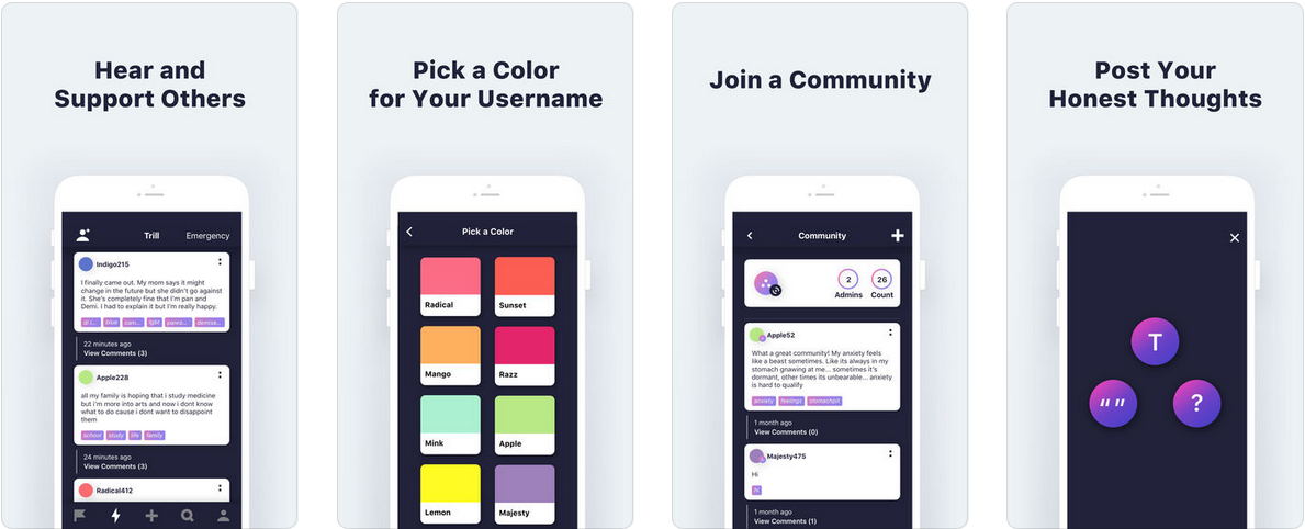 Screenshot 8 - تطبيق Trill Project شبكة اجتماعية جديدة تحافظ على أمنك بدون كشف هويتك