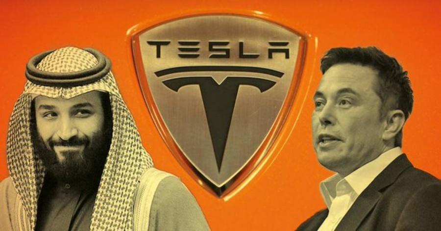 Tesla Salmaى1 - إيلون ماسك يؤكد أن صندوق الاستثمارات العامة السعودي مستعد لشراء شركة تيسلا