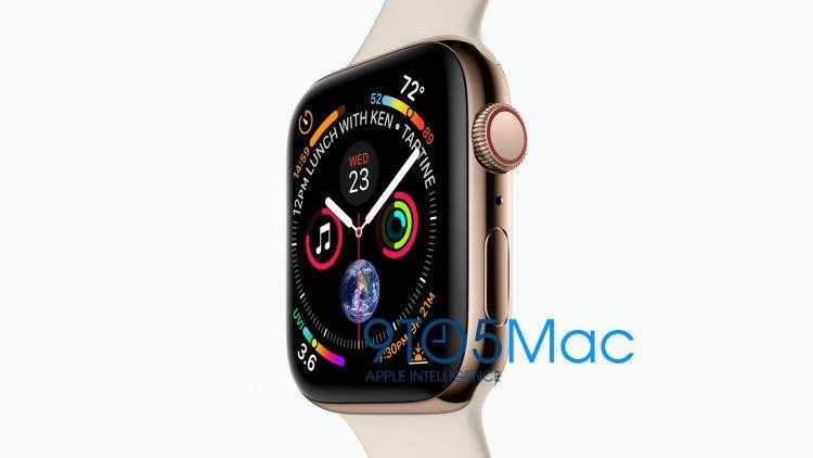 c4d6a2 - تسريب أول صور رسمية لجوال iPhone XS والساعة الذكية Apple Watch Series