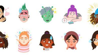 gboard mini stickers 390x220 - تحديث جديد بلوحة مفاتيح جوجل يمكنك من تحويل وجهك إلى إيموجي يشبهك