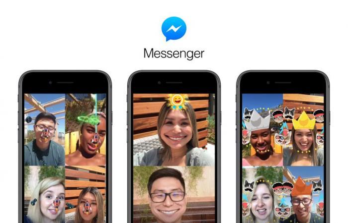 medium 2018 08 08 96fff82709 - فيسبوك يقدم ألعاب جديدة ومسلية لتطبيق ماسنجر تستخدم الواقع المعزز والكاميرا