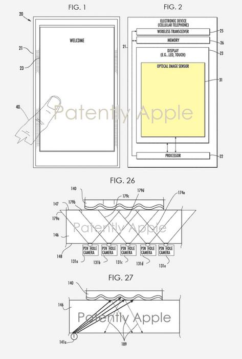 pata - أبل تحصل على براءة اختراع جديدة قد تعيد قارئ البصمة مرة أخرى إلى الأيفون