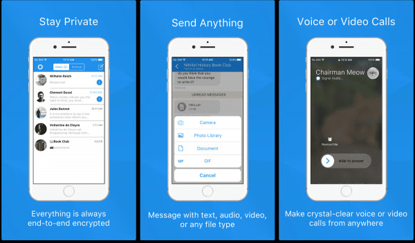 private chat apps signal - مع كثرة الثغرات الأمنية في واتساب، إليك 3 تطبيقات تعتبر الأكثر اماناً للاستخدام .. من بينها تيليجرام