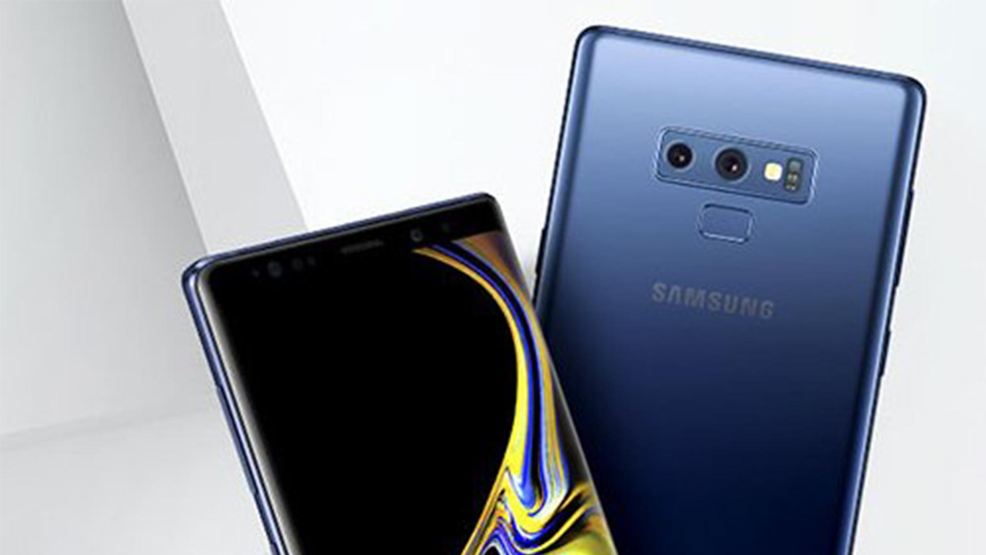 samsung galaxy note 9 leaked press render - قبل الكشف الرسمي، سامسونج تبدأ في تلقي الحجز للطلبات المسبقة لـ Galaxy Note 9