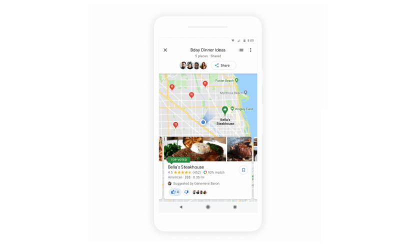 """قوقل - جوجل تضيف رسمياً ميزة جديدة """"قرر مع الأصدقاء"""" إلى خرائط جوجل"""