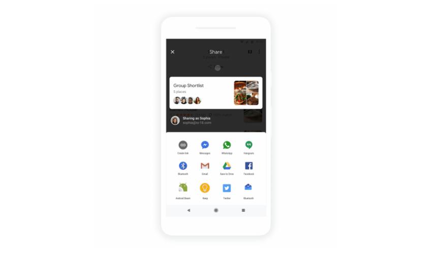 """قوقل1 - جوجل تضيف رسمياً ميزة جديدة """"قرر مع الأصدقاء"""" إلى خرائط جوجل"""