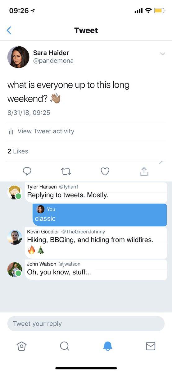 1 - سارة حيدر مديرة إدارة المنتجات في تويتر تكشف عن إضافات جديدة على واجهة المستخدم