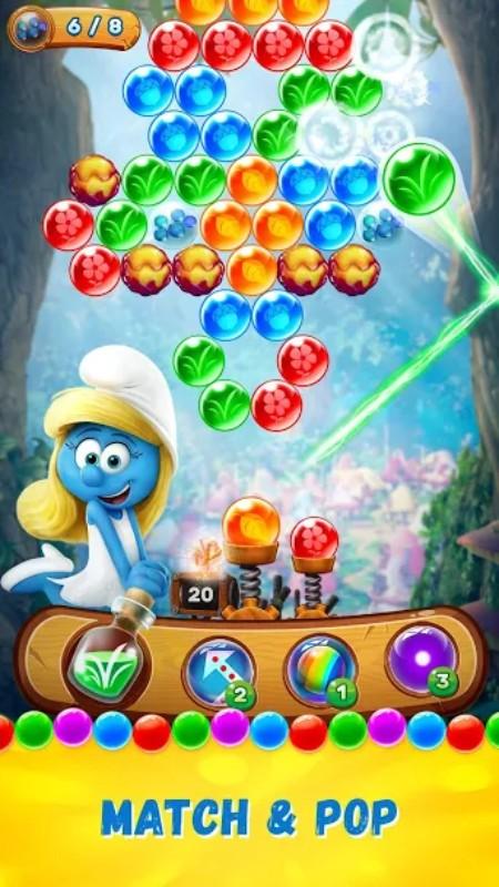 11.webp  1 - لعبة السنافر Smurfs Bubble Story الممتعة، متاحة لجوالات الآندرويد والآيفون
