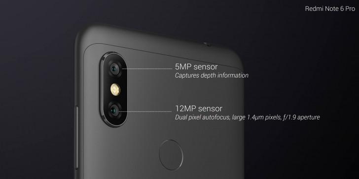 14 5 - شاومي تكشف رسمياً عن الهاتف الرائد Redmi Note 6 Pro مع شاشة بحجم 6.26 إنش