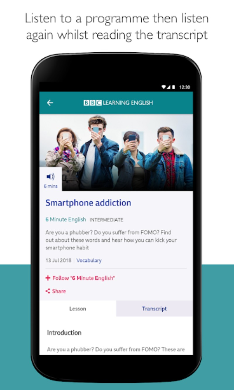 22.webp  - اذاعة BBC تطلق تطبيق BBC Learning English الجديد لتعلم اللغة الانجليزية بسهولة