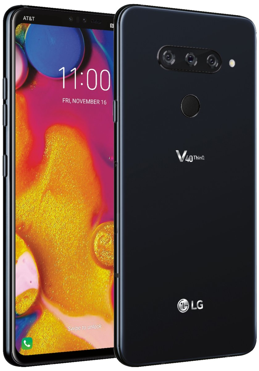 DoAWGuTXoAE0fnP - صور مسربة رسمية لهاتف LG V40 ThinQ تكشف مواصفاته مع 5 كاميرات