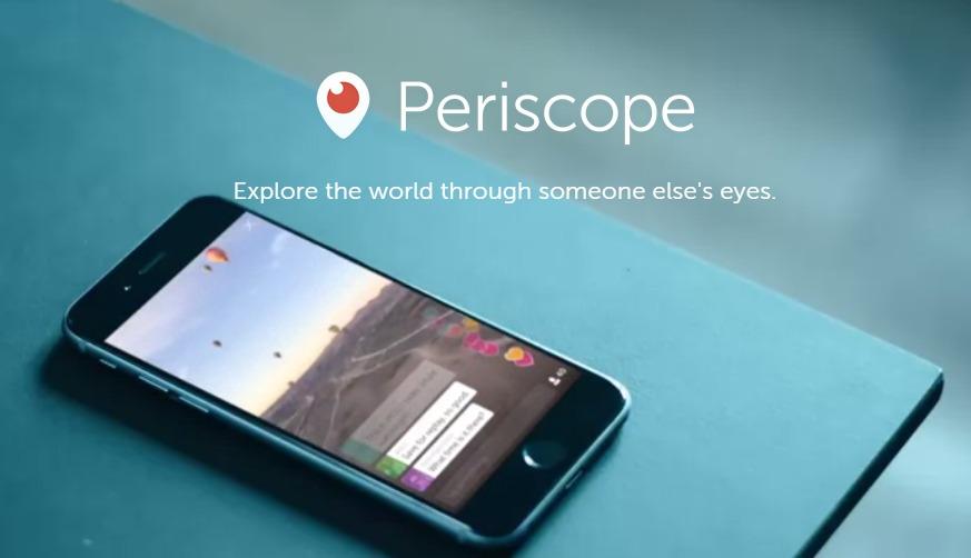 Periscope - تطبيق بريسكوب Periscope التابع لعملاق التواصل الاجتماعي تويتر، تحميله وكيفية استخدامه
