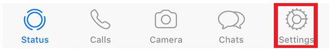 Screenshot 7 - هكذا تستطيع منع حفظ الصور ومقاطع الفيديو تلقائياً في تطبيق واتساب لأجهزة iOS