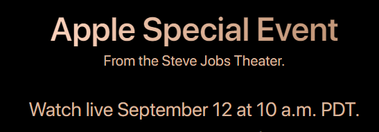 apple special event - رابط البث المباشر لـ مؤتمر ابل 12 سبتمبر 2018