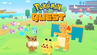 unnamed.webp  390x220 - لعبة Pokémon Quest الشيقة، أحد ألعاب بوكيمون، متاحة لجوالات الآندرويد والآيفون