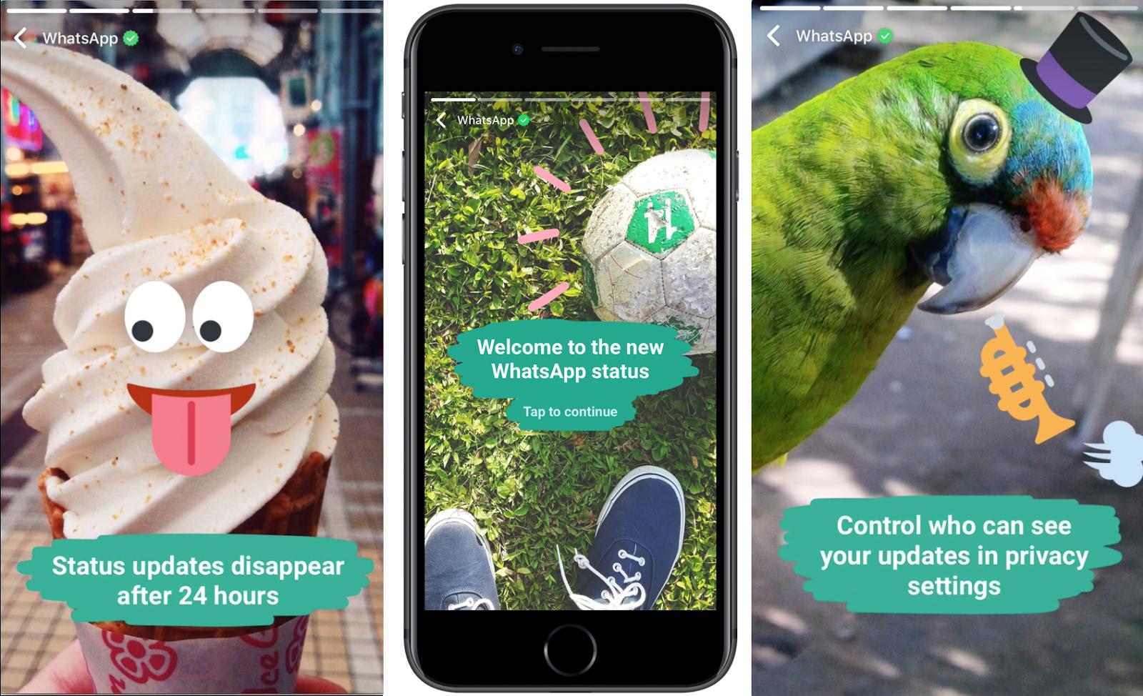 whatsapp status - كيفية تحميل فيديوهات وصور القصص على تطبيق واتساب