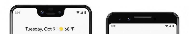 000 - الإعلان الرسمي عن الهاتفين الرائدين Google Pixel 3 و Google Pixel 3 XL