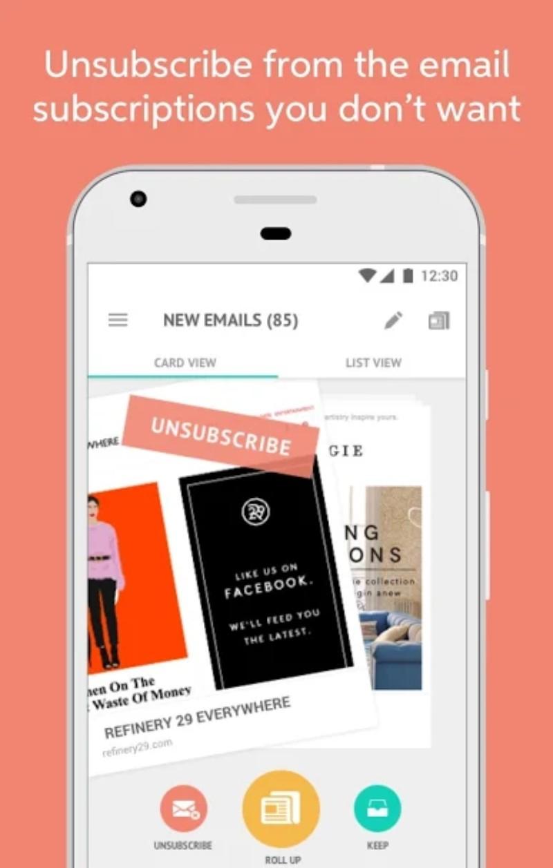1.webp  9 - تطبيق Unroll.Me لحظر الرسائل الإعلانية المزعجة على الإيميل، للآندرويد والآيفون