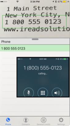 1111 - تطبيق VisuCaller يلتقط لك أرقام الجوالات سواء بكتاب او بجهاز او بلوحه عن طريق تصويره