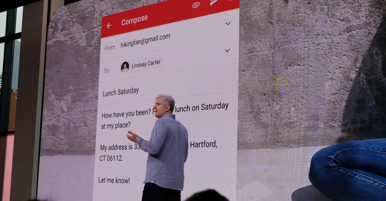 3 1 - جوجل تعلن عن إتاحة ميزة Smart Compose إلى تطبيق Gmail على الهاتف