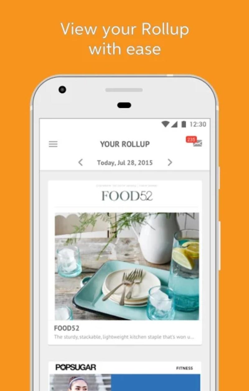 4.webp  8 - تطبيق Unroll.Me لحظر الرسائل الإعلانية المزعجة على الإيميل، للآندرويد والآيفون