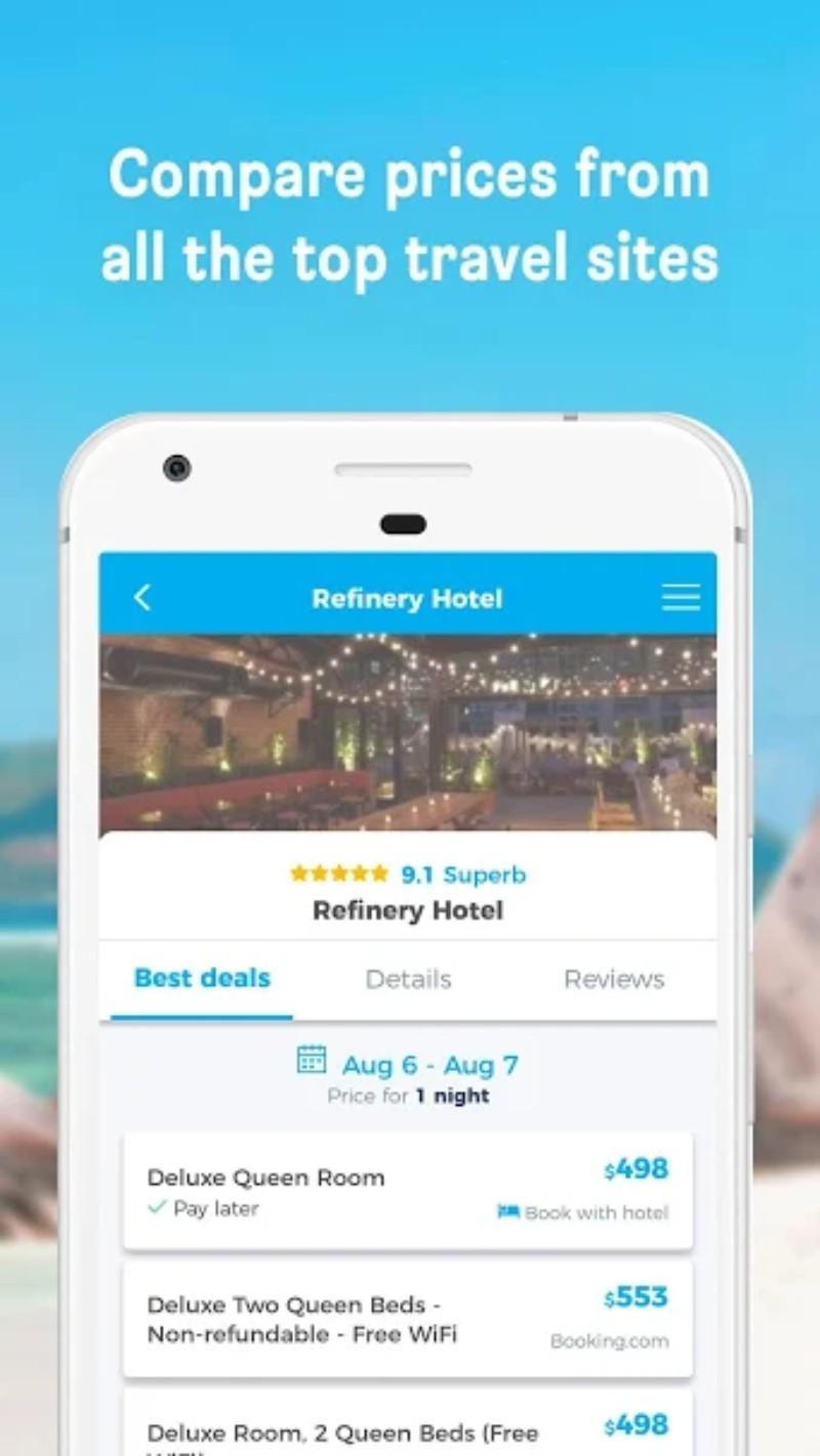 44.webp  1 - تطبيق هوتيلز كومبايند HotelsCombined لمعرفة أرخص الفنادق وأفضلها في أي مكان