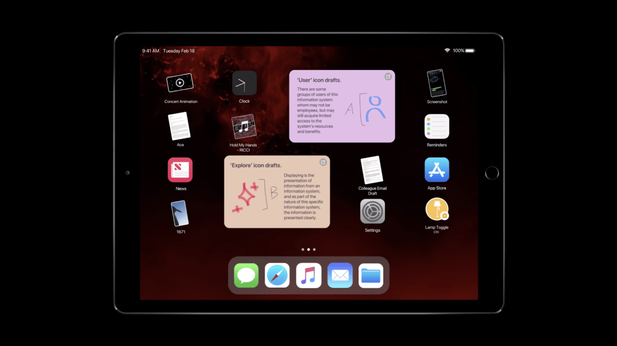 5 - فيديو وصور جديدة تكشف عن التصميم التخيلي لنظام تشغيل آبل القادم iOS 13