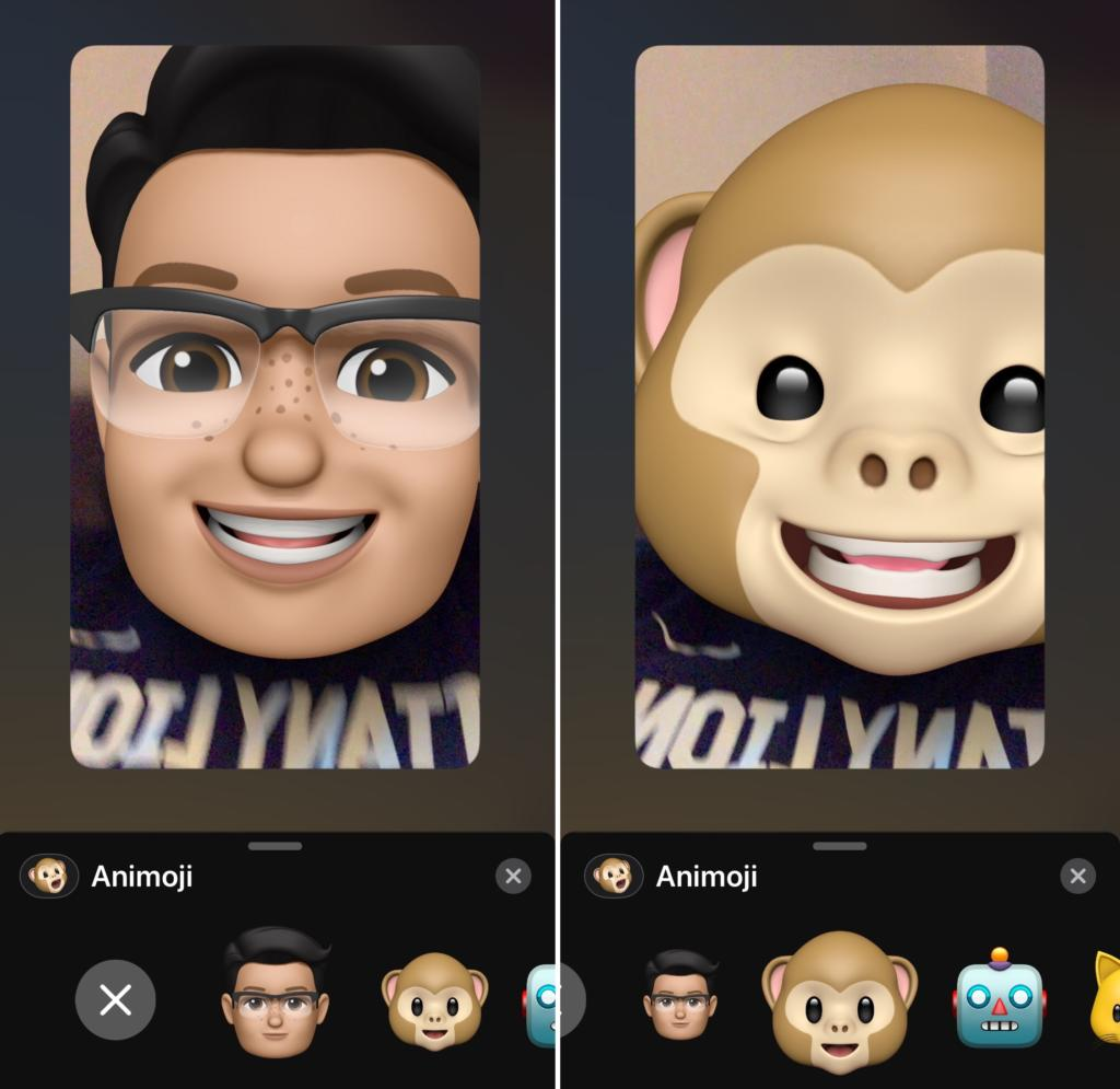 6 1 - خطوات بسيطة تمكنك من إضافة رموز Animoji وMemoji أثناء مكالمات فيديو FaceTime