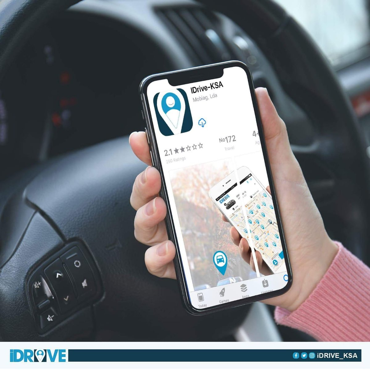 DoA HMhXsAA8OkE - تطبيق IDrive-KSA أول تطبيق خاص بمشاركة السيارات في المملكة العربية السعودية