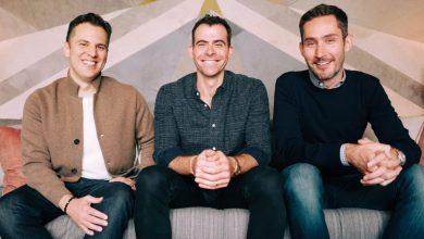 Head of Instagram Adam Mosseri with co founders Kevin Systrom and Mike Krieger 1024x673 390x220 - بعد استقالة مؤسسيه مؤخرًا، تعيين آدم موسيري رئيسًا جديدًا لإنستجرام