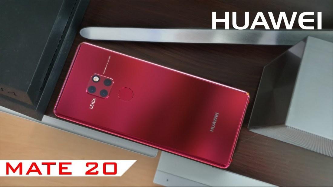 Huawei Mate 20 - تسريبات: أسعار هواتف هواوي الرائدة Mate 20 و Mate 20 Pro