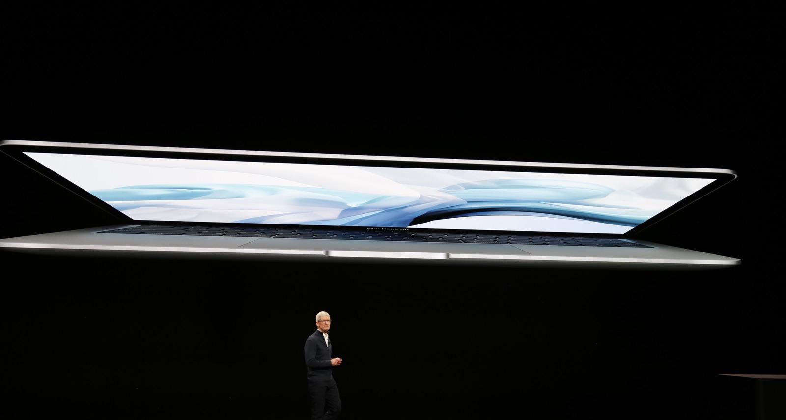 MacBook Air 2018 - مؤتمر آبل: آبل تعلن رسمياً عن الجهاز الجديد MacBook Air ببطارية تدوم 13 ساعة