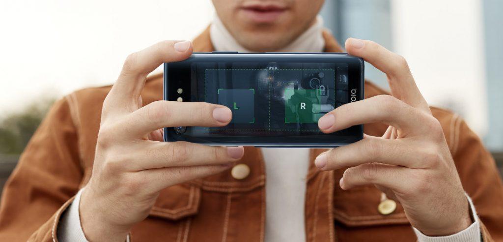 Nubia X second screen - الإعلان عن الهاتف الذكي Nubia X مع تصميم فريد يضم شاشتين وتقنية الذكاء الاصطناعي