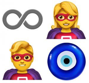 apple emoji 4 300x281 - آبل تطلق الإصدار التجريبي لنظام التشغيل iOS 12.1 مع 70 رمزًا تعبيريًا جديدًا