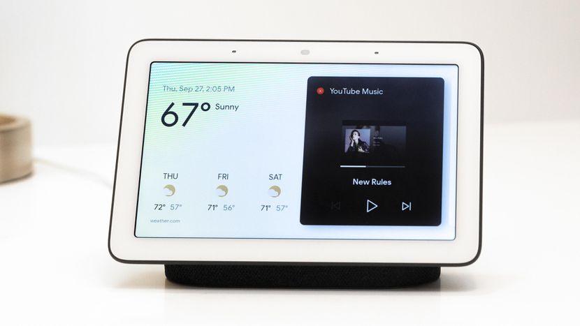 google home hub 2094 - جوجل تكشف رسميًا عن مساعدها المنزلي Google Home Hub بمزايا ذكية