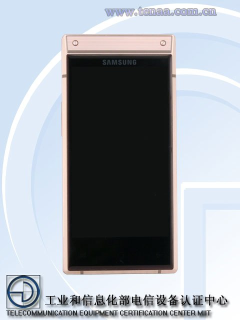 samsung sm w2019 flip phone 2 - مع اقتراب الإعلان الرسمي، ظهور صور ومواصفات جوال سامسونج W2019 بسعر 9,200 ريال