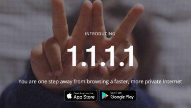 1111 cloudflare dns app 660x330 390x220 - تطبيق 1111 الجديد للحفاظ على السرية ورفع سرعة الانترنت لهواتف الأندرويد والآيفون