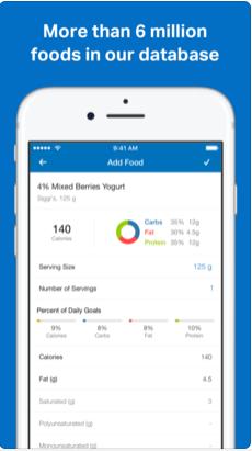 2 1 - تطبيق MyFitnessPal يفيدك في حساب السعرات الحراريه لتخفيف وزنك