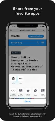 3 - تطبيق Buffer لجدولة تغريداتك ومنشوراتك على مواقع التواصل الاجتماعي