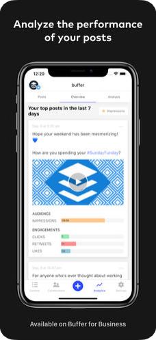 4 - تطبيق Buffer لجدولة تغريداتك ومنشوراتك على مواقع التواصل الاجتماعي