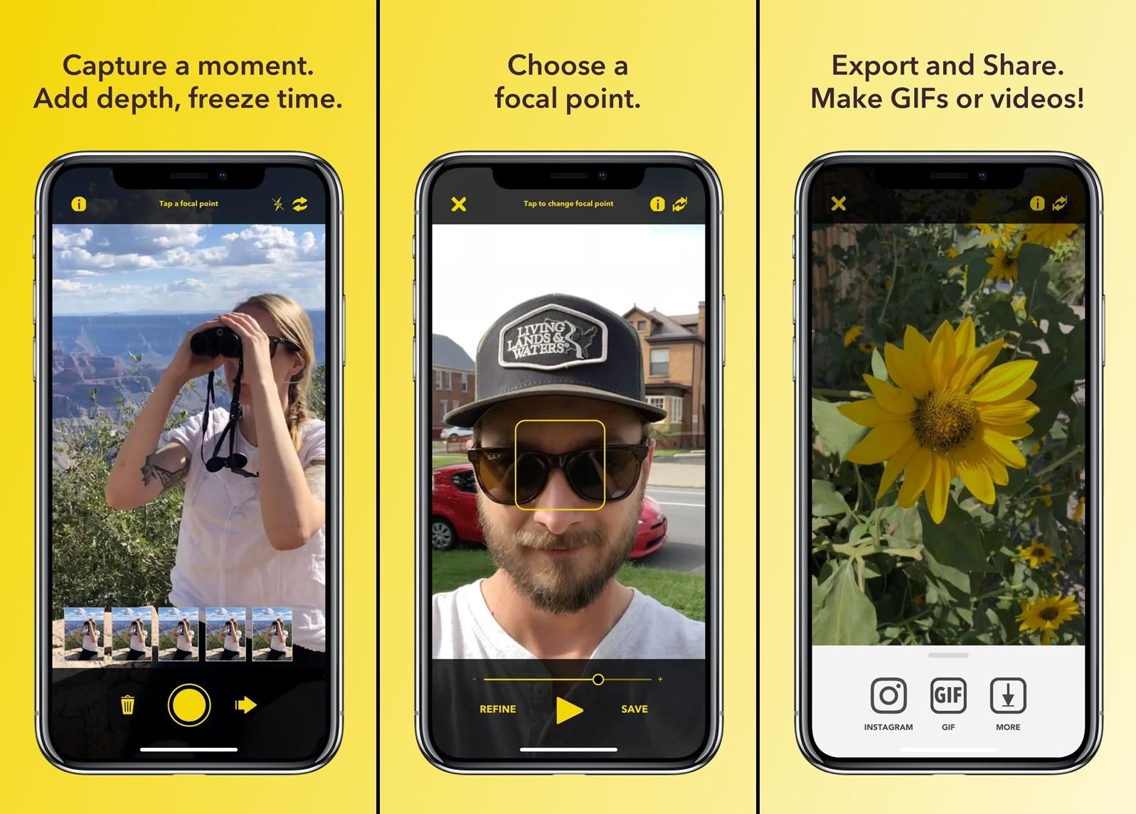 FourEyes - التطبيق المميز الجديد FourEyes لإنشاء صور ثلاثية الأبعاد لهواتف الآيفون